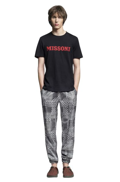 MISSONI Trouser Black Man - Back