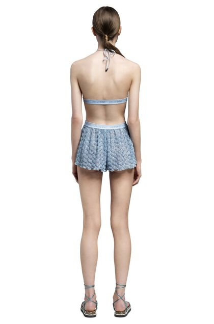 MISSONI MARE Shorts Sky blue Woman - Front