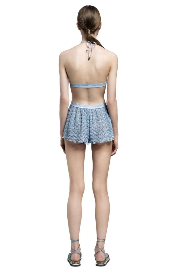 MISSONI Shorts Woman, Rear view