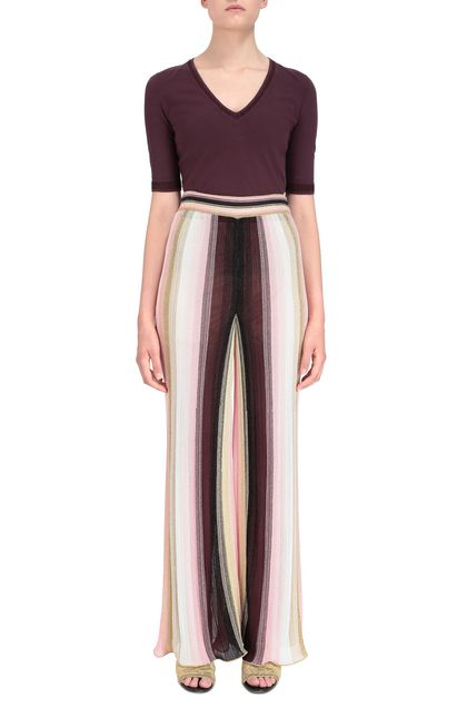 M MISSONI Pants Pink Woman - Back