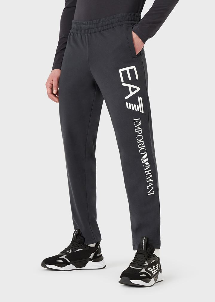Pantalones deportivos de algodón puro de felpa perchada de bebé con  logotipo de gran tamaño  5ab65316b82e