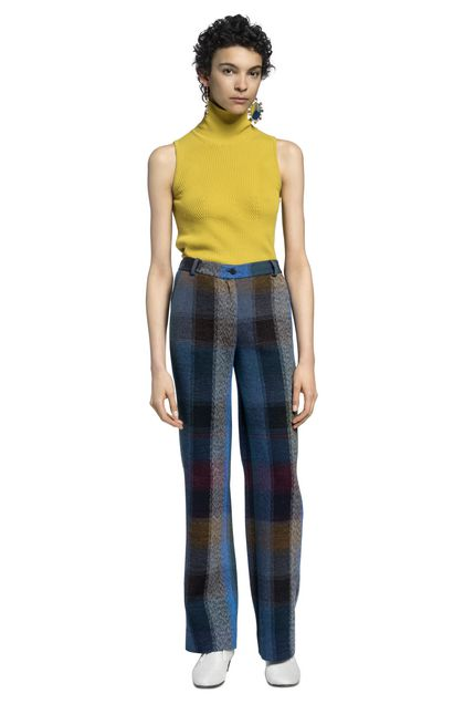 MISSONI Pants Azure Woman - Back