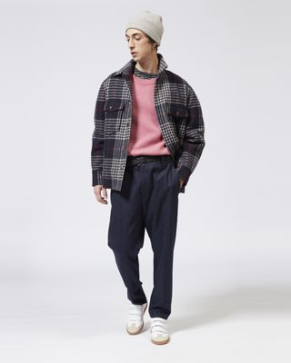 ISABEL MARANT TROUSER Man MAYEUL flannel trousers r