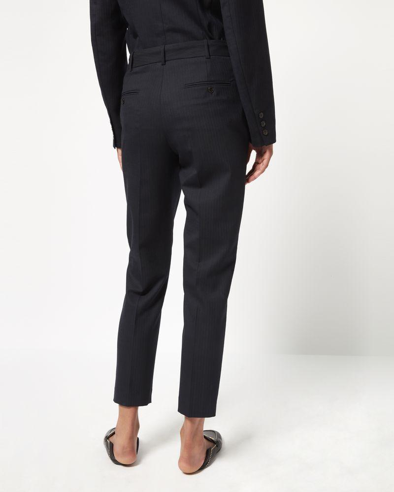 Pantalon à fines rayures HERO ISABEL MARANT