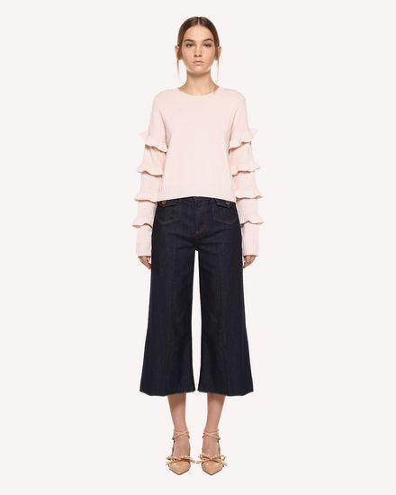 REDValentino Pants Woman QR0DD02Z446 518 f
