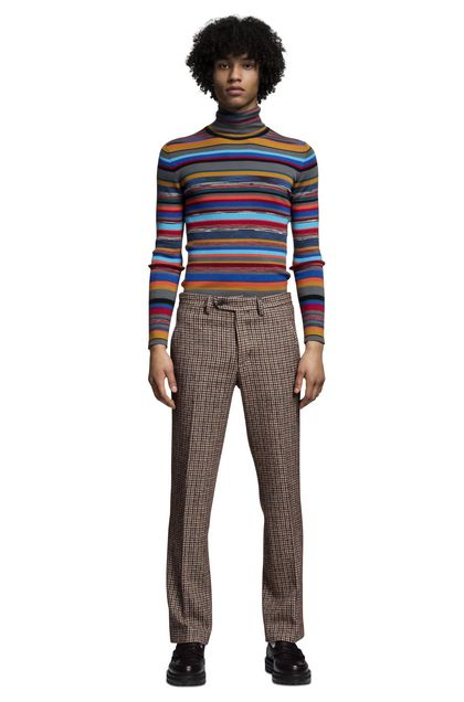 MISSONI Trouser Brown Man - Back