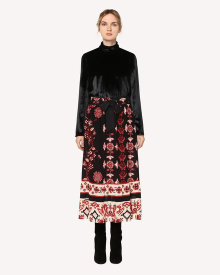 REDValentino Skirt Woman QR0RA34042U 0NO f