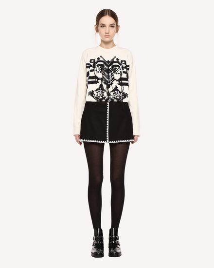 REDValentino Pants Woman QR0RF1I00NA 0NO f