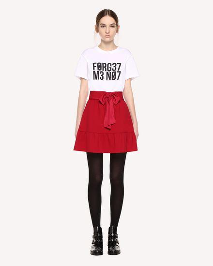 Cady Tech skirt with belt detail