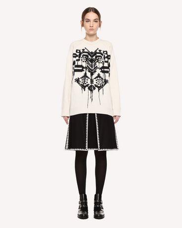 REDValentino QR0RA3530NA 0NO Skirt Woman f