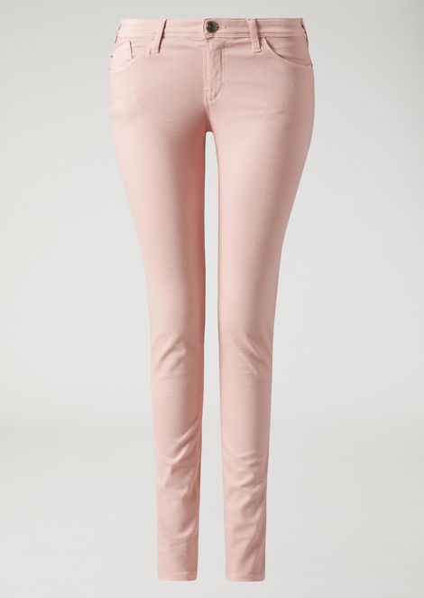 J28 super skinny five-pocket trousers in gabardine