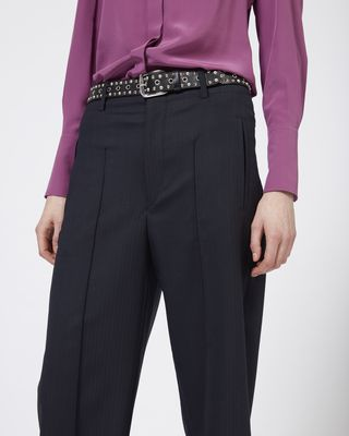 ISABEL MARANT TROUSER Woman HAMI wide leg trousers r