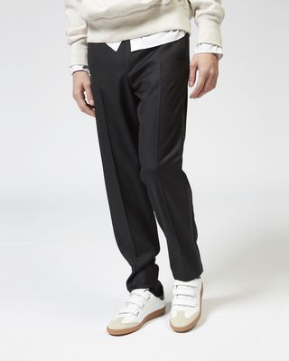 ISABEL MARANT TROUSER Man LUTZ tuxedo trousers r