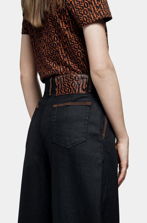MISSONI Pantalones Mujer, Vista trasera