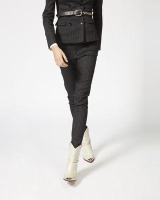 ISABEL MARANT PANT Woman KENTON stretch trousers r