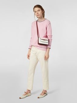 Marni 5-pocket raw cotton drill pants Woman