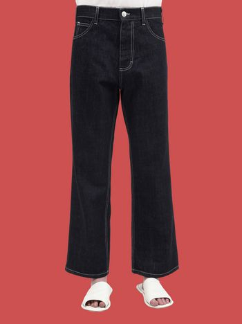 Marni 5-pocket pants in non-washed denim Woman