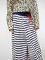 Marni Asymmetric pants in compact striped jersey Woman - 4