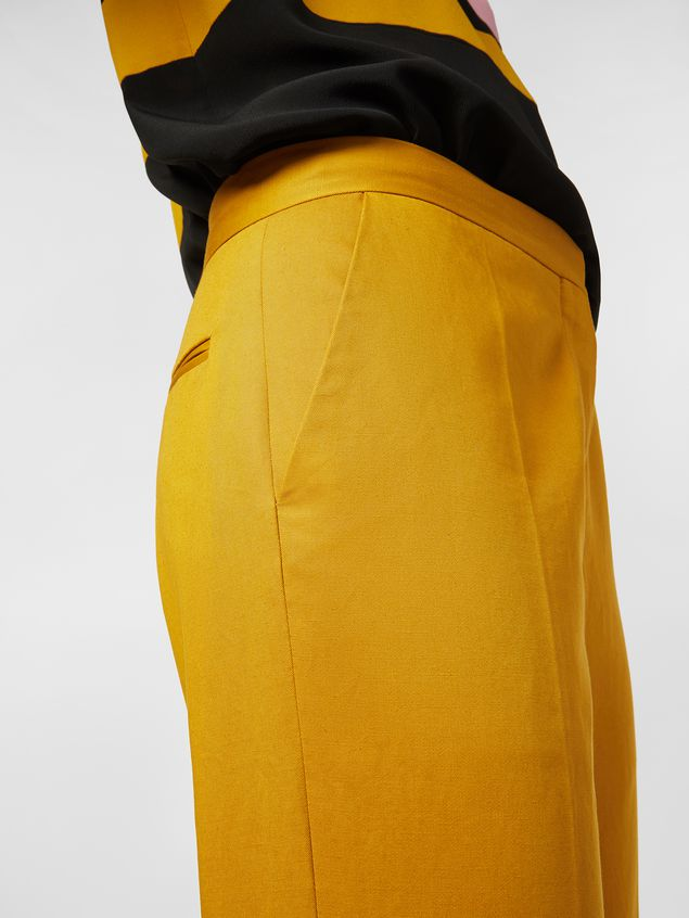 Marni Pants in cotton and linen drill Woman - 4