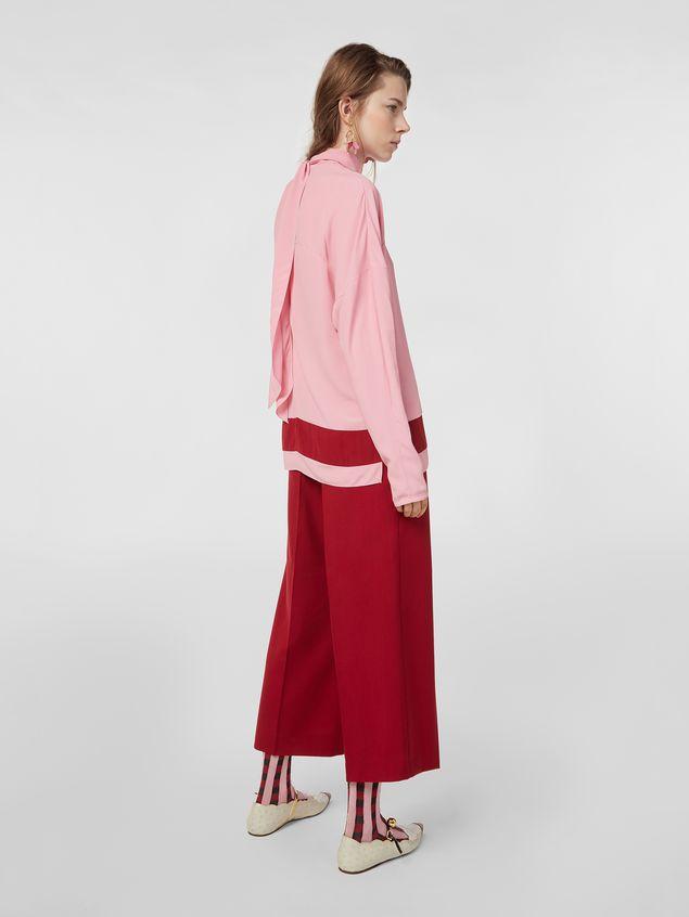 Marni Turn-up pants in cotton Woman