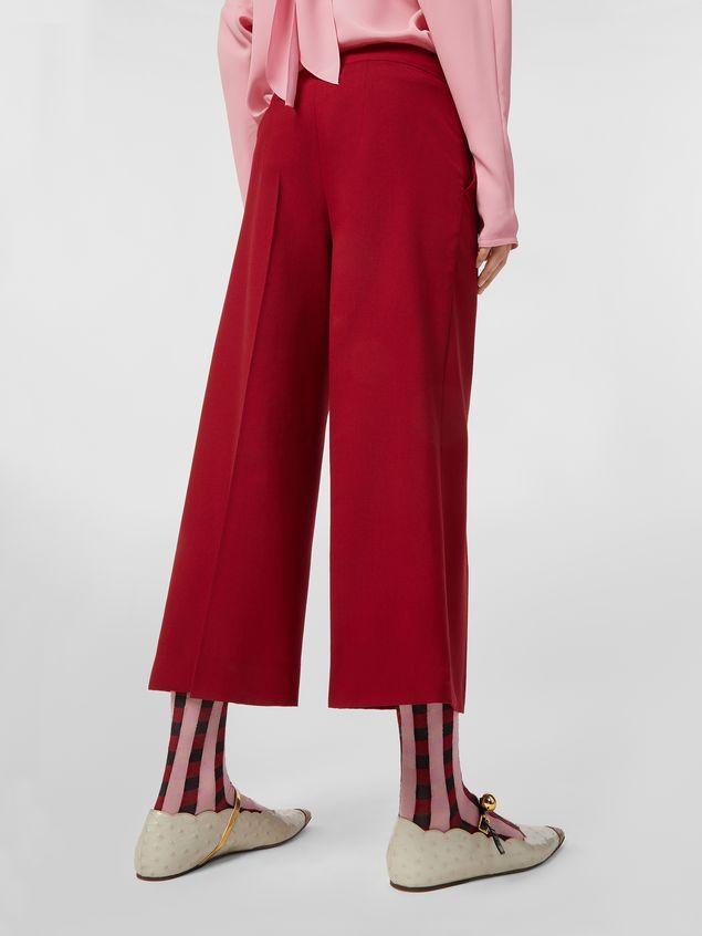 Marni Turn-up pants in cotton Woman - 5