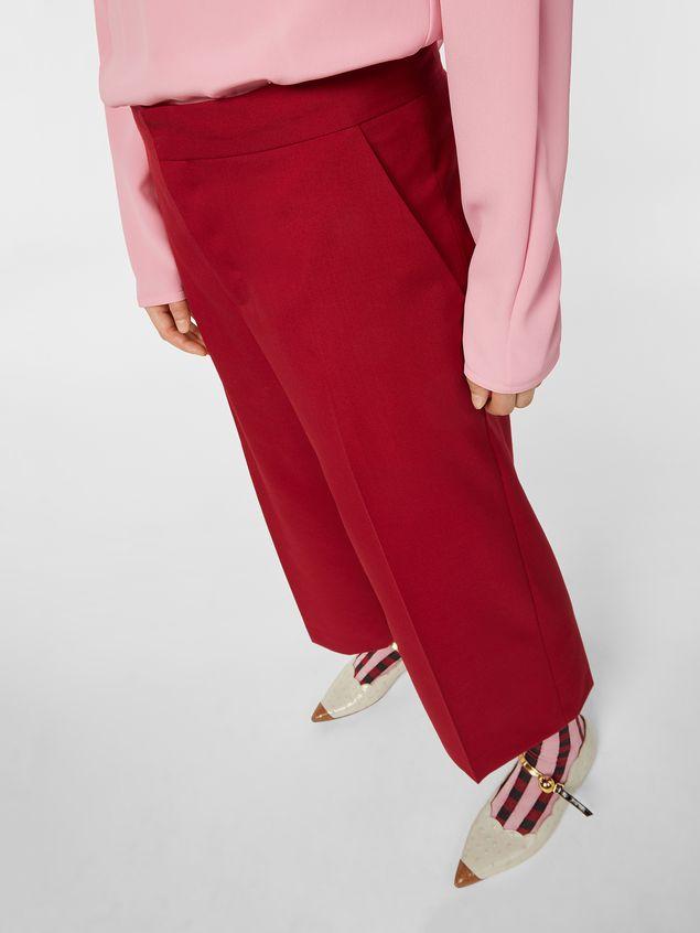 Marni Turn-up pants in cotton Woman - 4