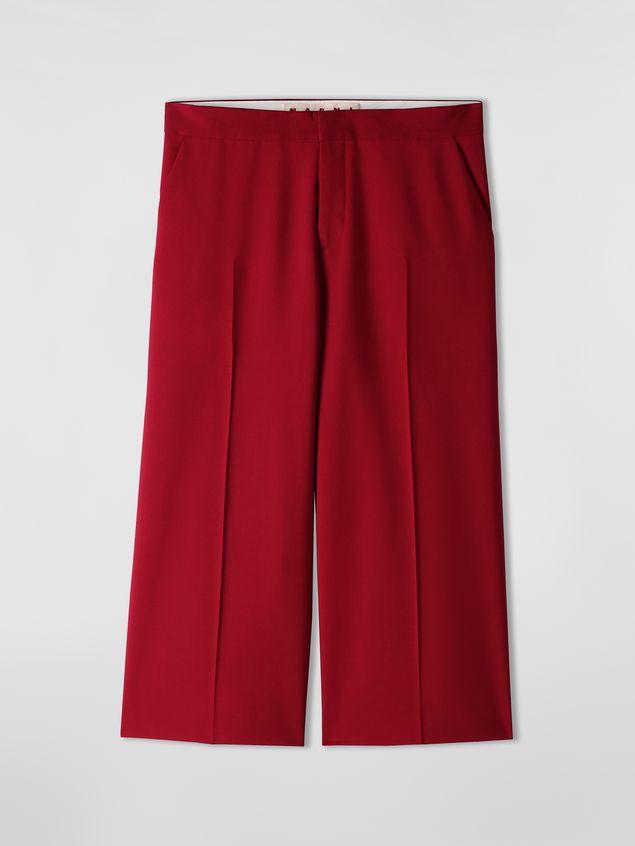 Marni Turn-up pants in cotton Woman - 2