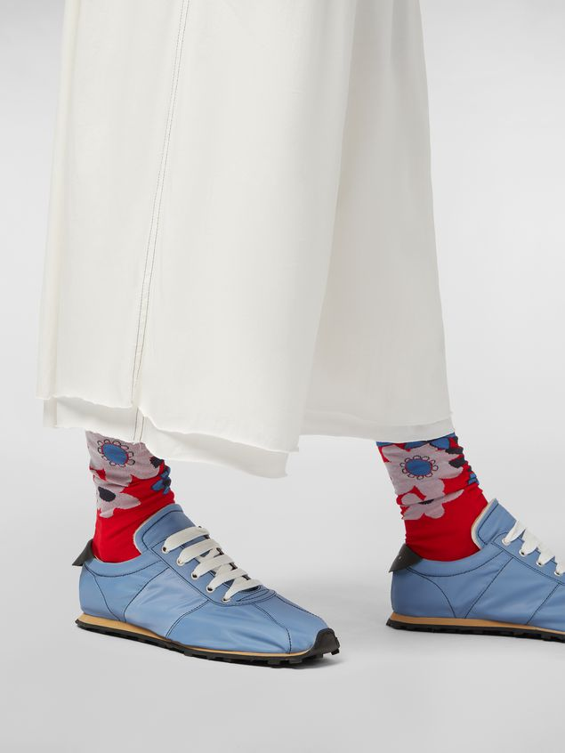 Marni Below-the-knee pants in lightweight cotton jersey Man - 4