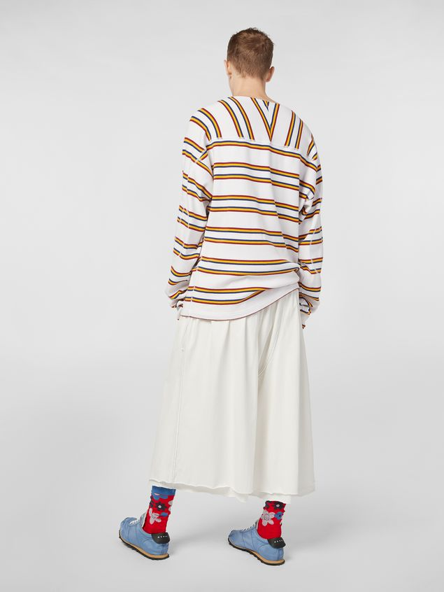 Marni Below-the-knee pants in lightweight cotton jersey Man - 3