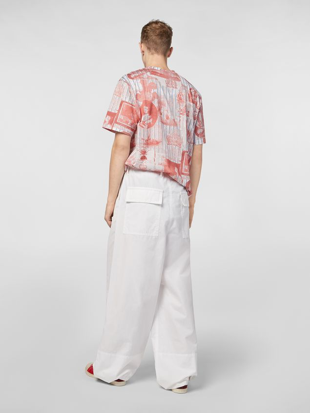 Marni Pants in twisted compact cotton Man