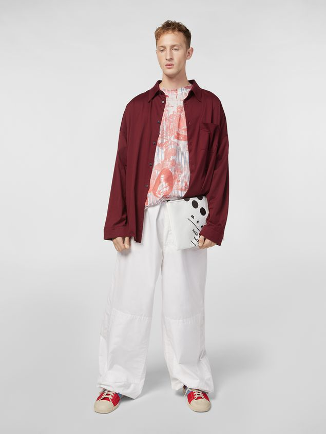 Marni Pants in twisted compact cotton Man - 1