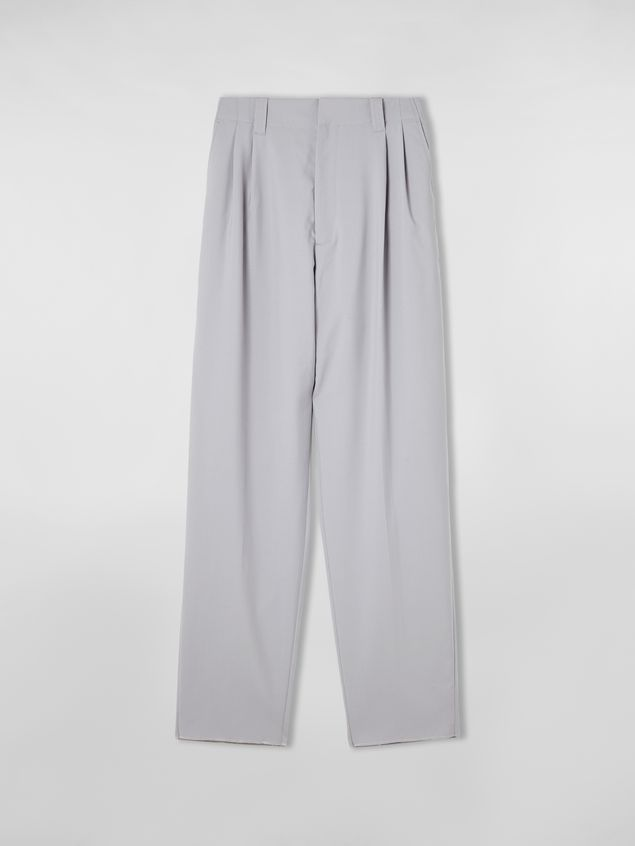 Marni Darted pants in tropical wool Man - 2