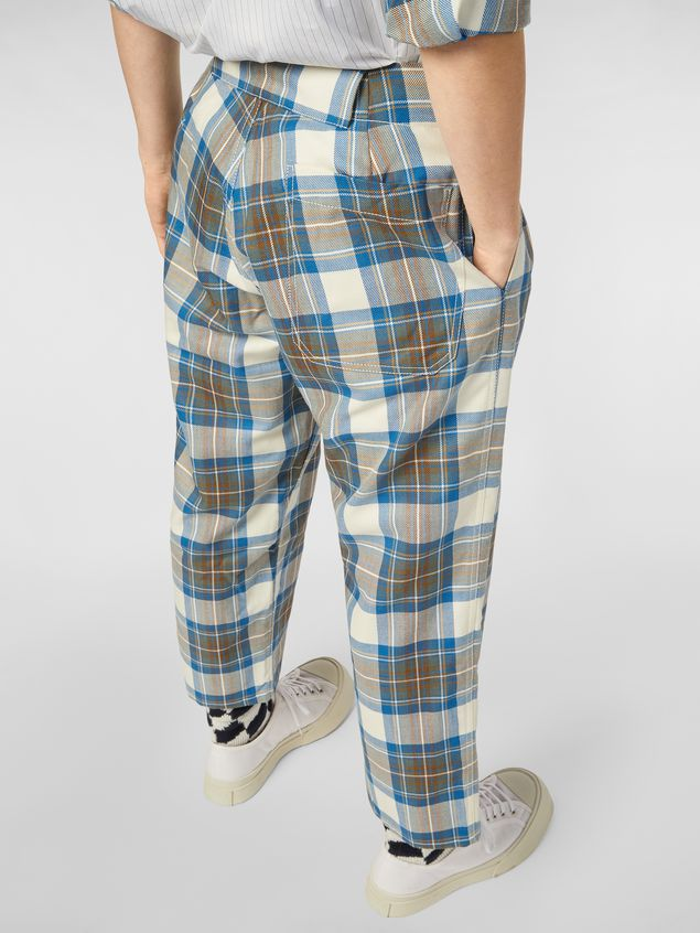 Marni Pants in yarn-dyed wool tartan Man - 4