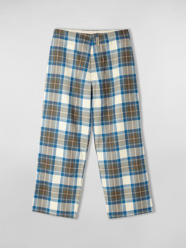 Marni Pants in yarn-dyed wool tartan Man - 2