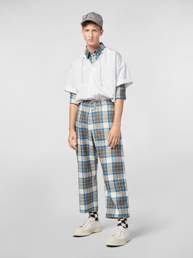 Marni Pants in yarn-dyed wool tartan Man - 1