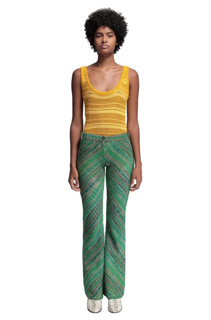 MISSONI Pants Green Woman - Back