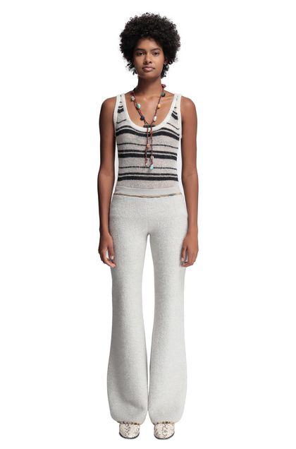 MISSONI Trouser Light grey Woman - Back