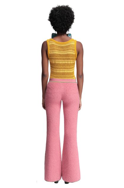 MISSONI Trouser Pink Woman - Front