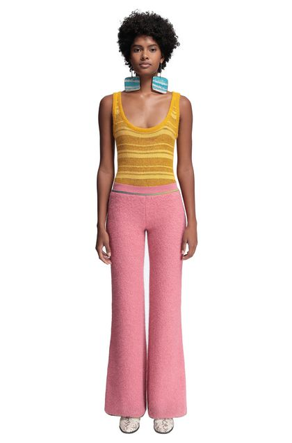 MISSONI Pants Pink Woman - Back