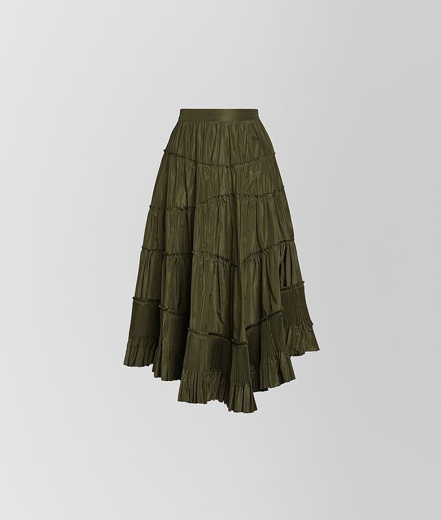 BOTTEGA VENETA SKIRT IN SILK Skirt or trouser [*** pickupInStoreShipping_info ***] fp