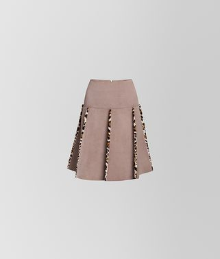 SKIRT IN SUEDE
