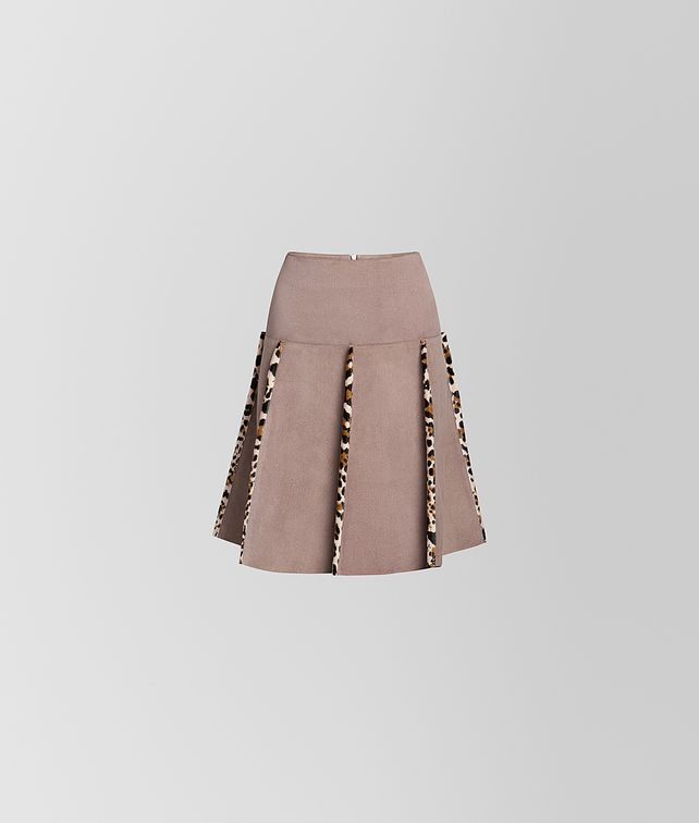 BOTTEGA VENETA SKIRT IN SUEDE Skirt or trouser [*** pickupInStoreShipping_info ***] fp