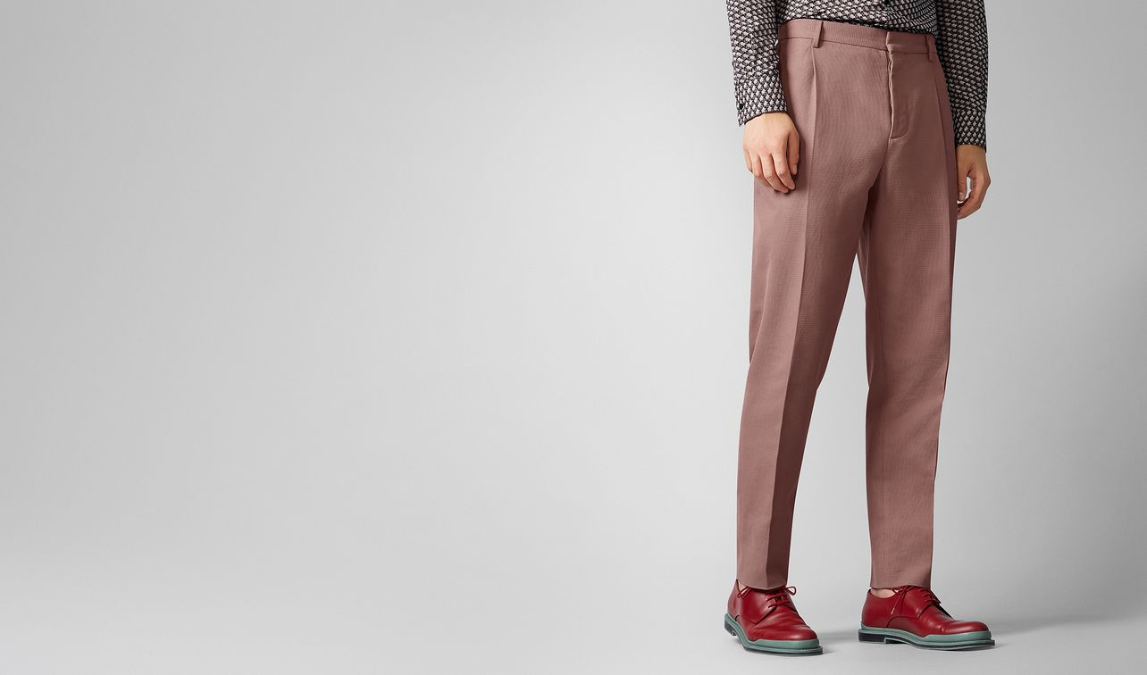 trousers in cotton  landing