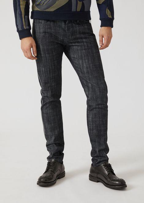 Slim fit 12-oz denim jeans with selvedge