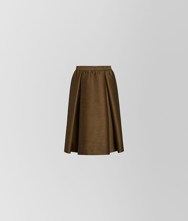 BOTTEGA VENETA SKIRT IN WOOL AND SILK Skirt or trouser [*** pickupInStoreShipping_info ***] fp