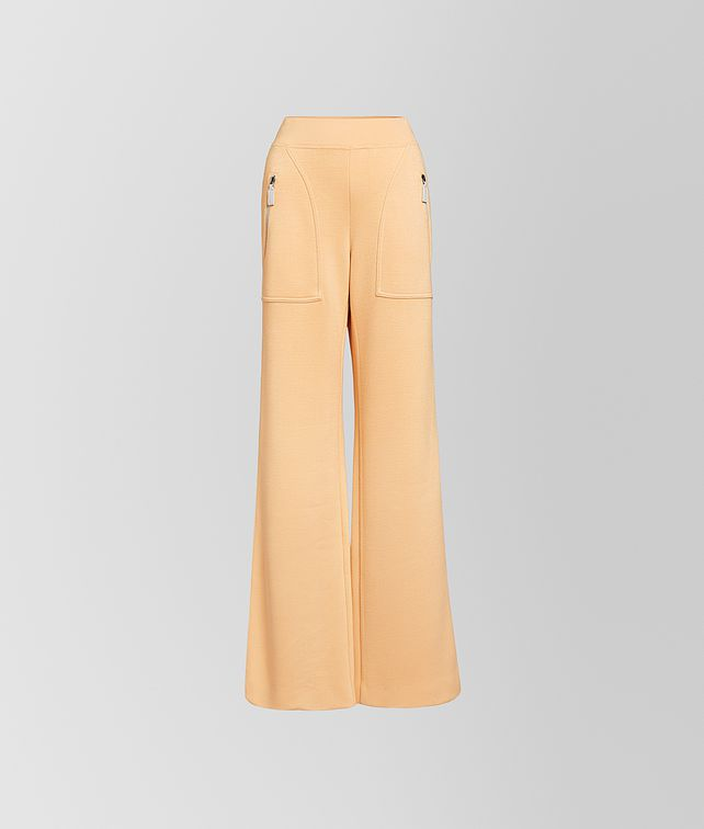 BOTTEGA VENETA TROUSERS IN VISCOSE Trousers and Shorts Woman fp