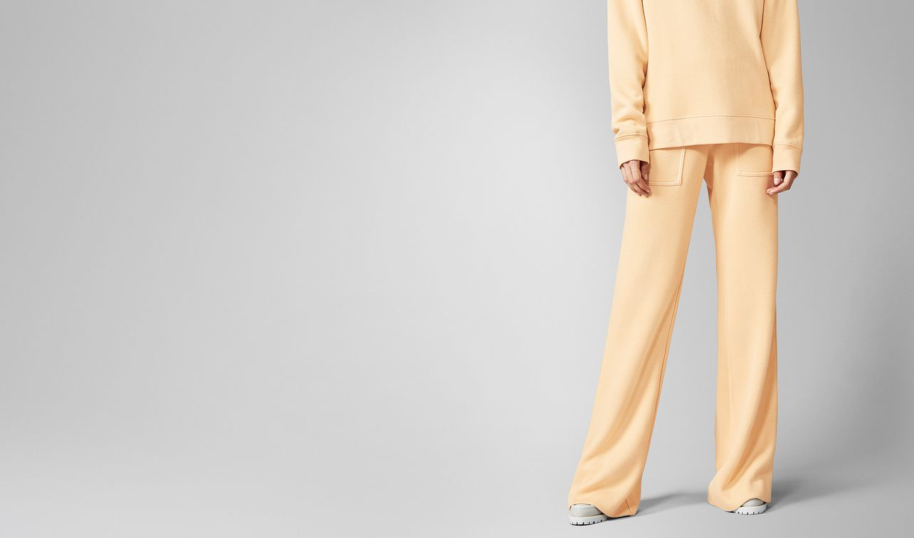trousers in viscose  landing