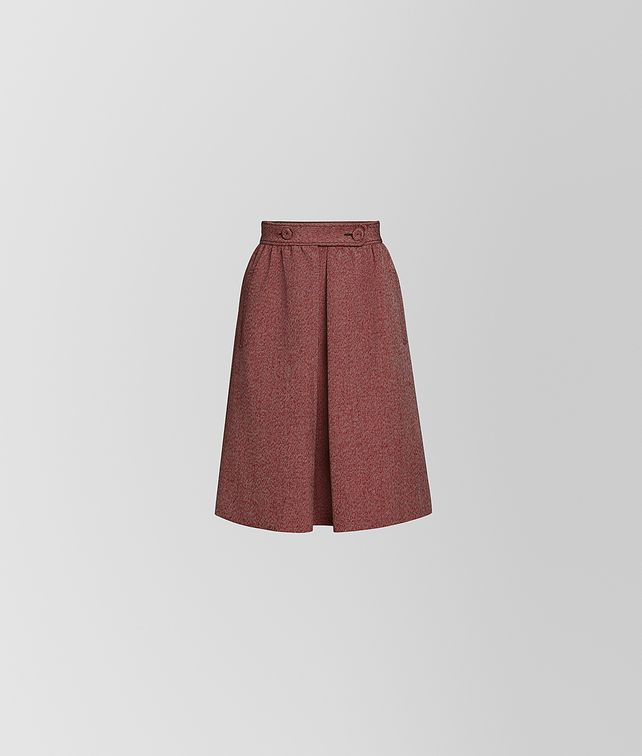BOTTEGA VENETA SKIRT IN COTTON AND WOOL Skirt or trouser [*** pickupInStoreShipping_info ***] fp