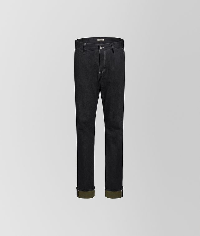 BOTTEGA VENETA TROUSERS IN DENIM Trousers and Shorts Man fp