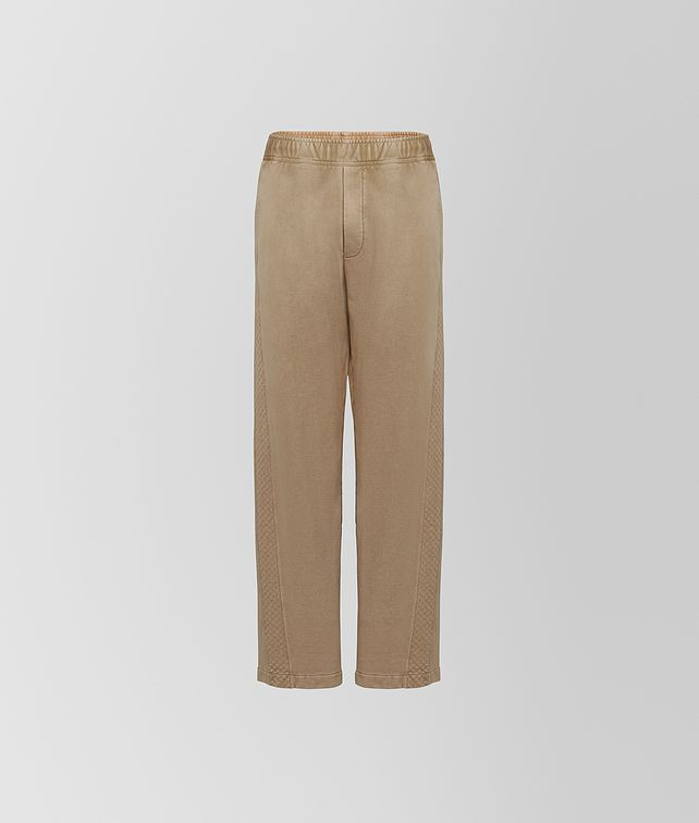 BOTTEGA VENETA TROUSERS IN COTTON Trousers and Shorts Man fp